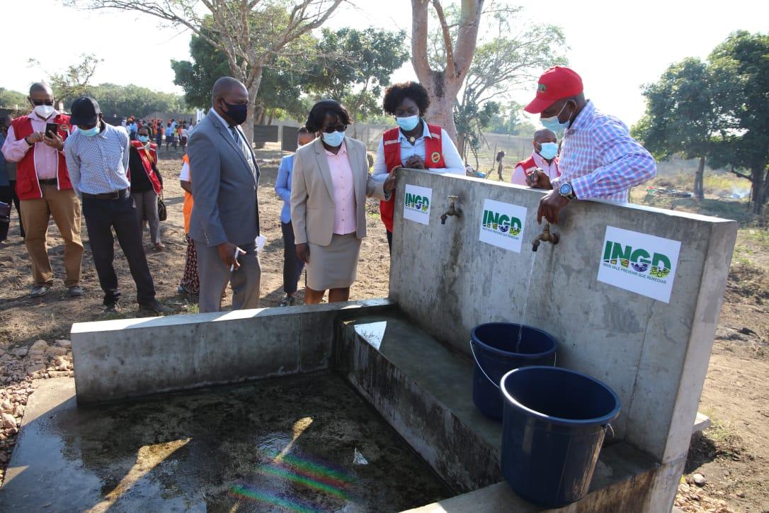 Concluída construção de 16 reservatórios escavados em Maputo e Gaza.