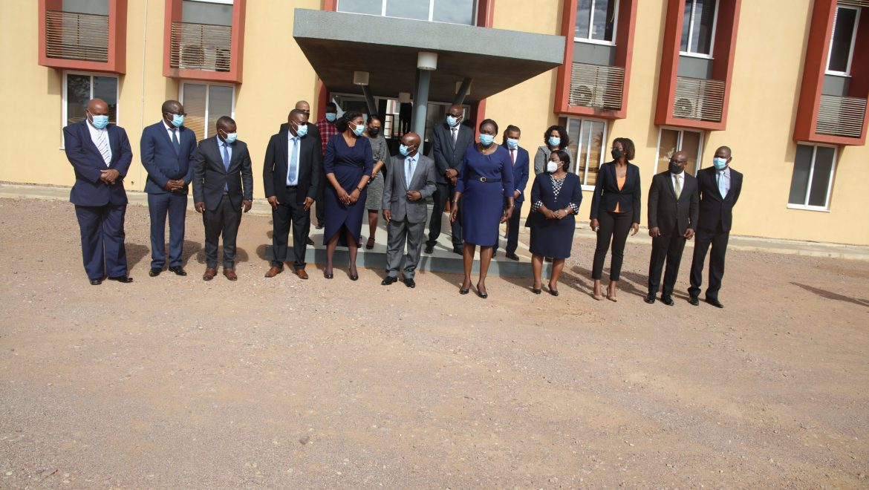 Empossados membros do Conselho de Direcção do INGD.